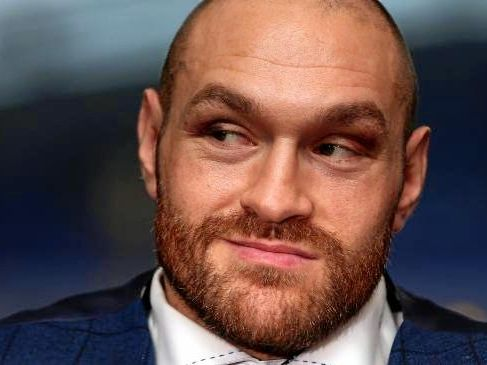 Fury has been out of action for two years.