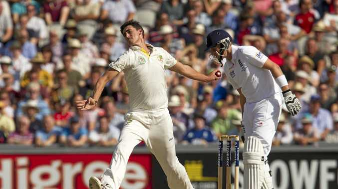 Australia's Mitchell Starc is itching for this season's Ashes series against England.