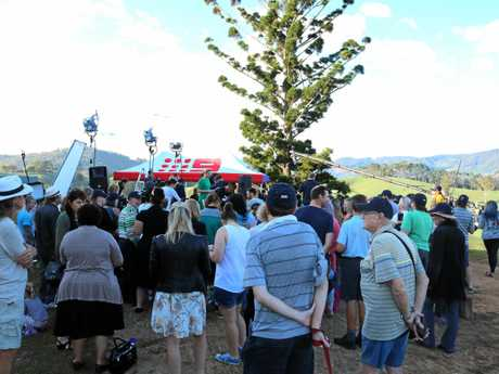 The Tweed gathers for the TODAY Show live broadcast from Tweed Regional Gallery, Murwillumbah on Friday.