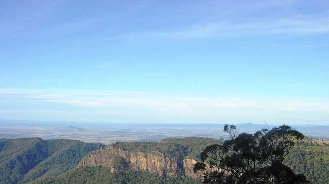Magnificent views from Main Range National Park.