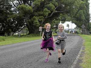 Cowper Public School's spooky fun run