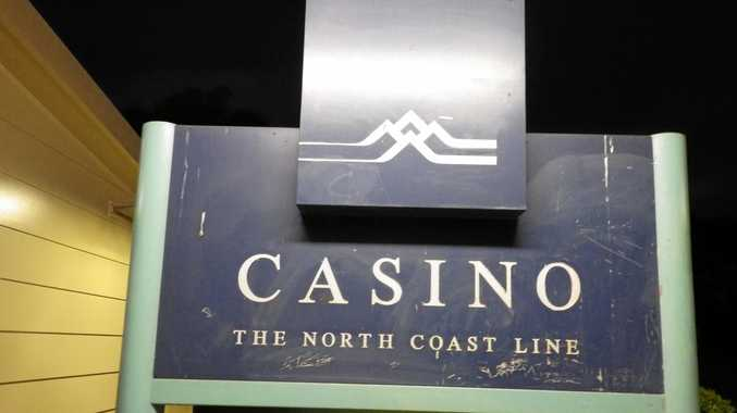 A man has been arrested at the Casino train station.