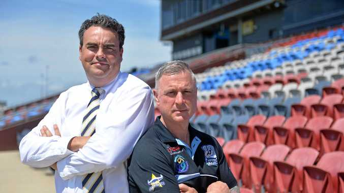 Cutters CEO Troy Rovelli and Whitsunday MP Jason Costigan are disappointed the NRL has snubbed Mackay again in 2018.