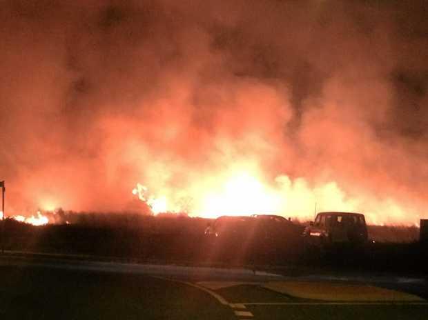 Royal Sands fire.