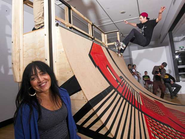 ART UNITES US: Pat Hoffie says art awards play an