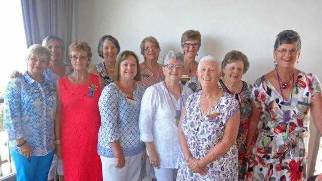 NEW EXECUTIVE: The Buderim VIEW Club's 2017 Committee, including new president Julie Peake (far right).