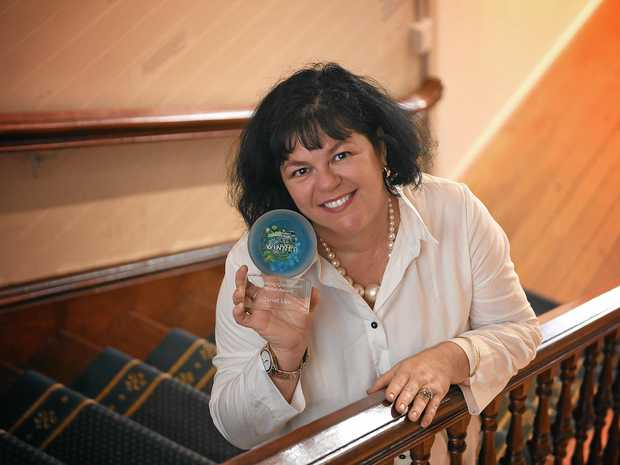 THRILLED: Janet Lee from Gympie won the Queensland Emerging Writers Award.