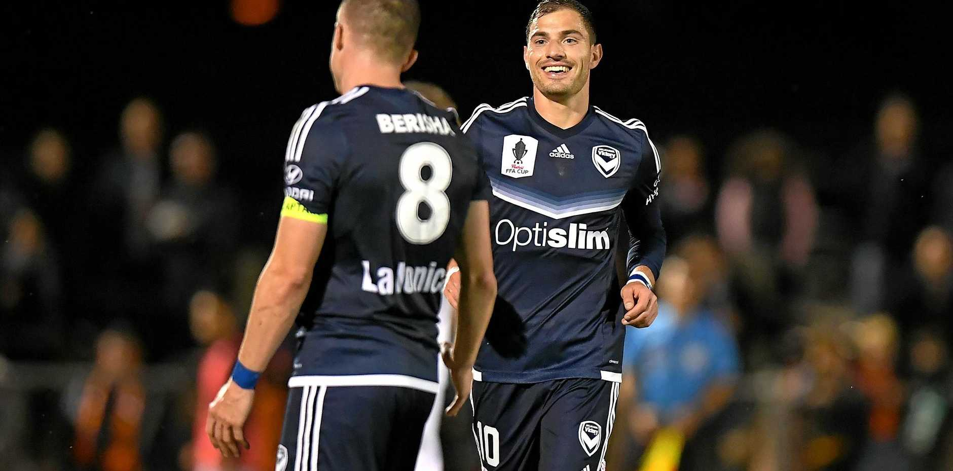 James Troisi is staying with the Victory after negotiations with Melbourne City.