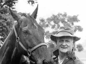 Ken Cavanough and his beloved Cavlon, when Ken was 64 years old and Cavlon was four.