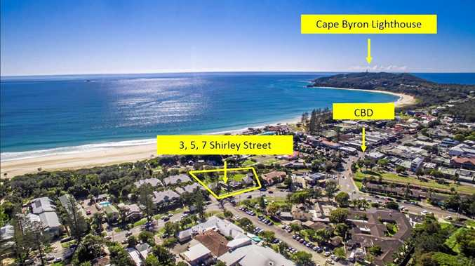 Unique real estate opportunity in Byron Bay.