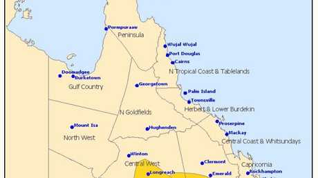 STORM WARNING: Issued at 2.05PM by the Bureau of Meteorology.