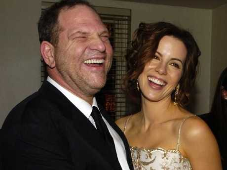 Harvey Weinstein and Kate Beckinsale in 2010.