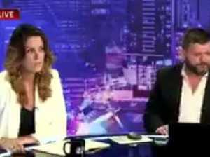 Peta Credlin tells TV panel: 'You're all p*** and wind'