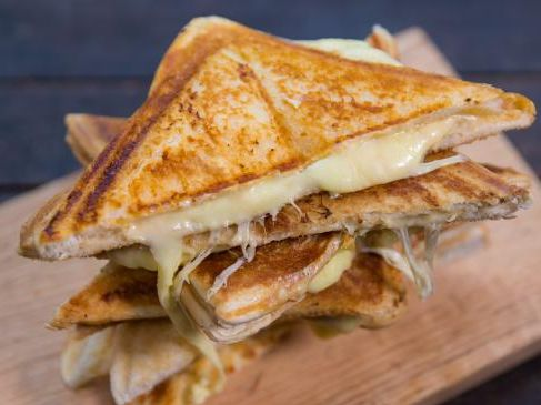 Tristan Lutze knows there's a secret ingredient to improve the cheese toastie. You've been making cheese toasties wrongSource:Supplied