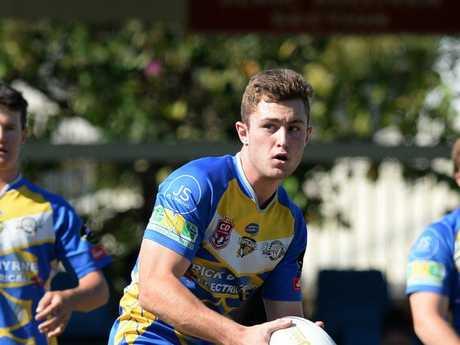 Ryan Flintham in the U20 rugby League grand final.
