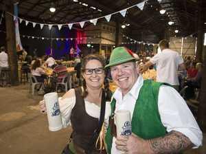 Revellers raise the roof at Oktoberfest