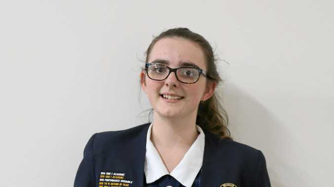 Winner of the annual state-wide Literary Competition, Courtney Smith, 17