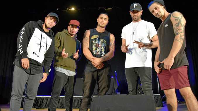 Justice Crew are set to perform in Kingaroy in a couple of hours time.