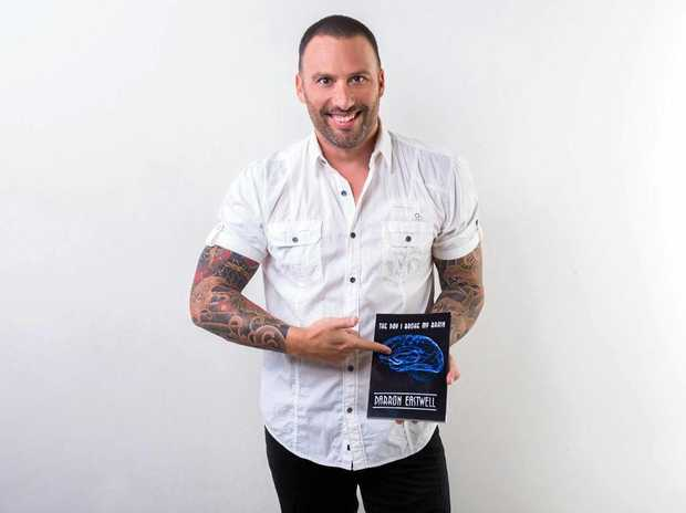 SURVIVOR: Buderim man Darron Eastwell spent a week in a coma after a major fall in Tewantin. His book has been invaluable to his comeback trail.