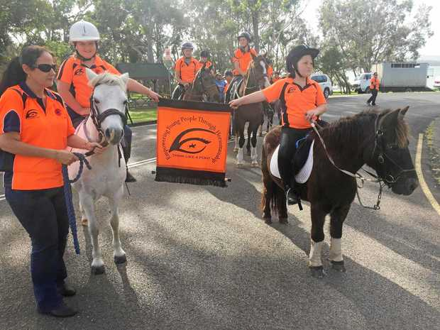 Rezoning could force the Think Like a Pony Youth Program to close their Tin Can Bay group.