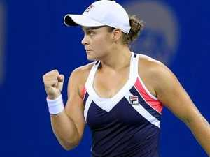 Barty caps breakout with Breakthrough award