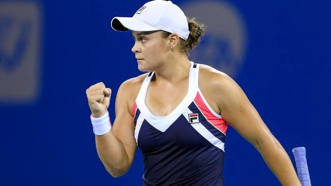 Ash Barty has enjoyed a stunning season, climbing from 325th in the world to No.23. Picture: Getty Images