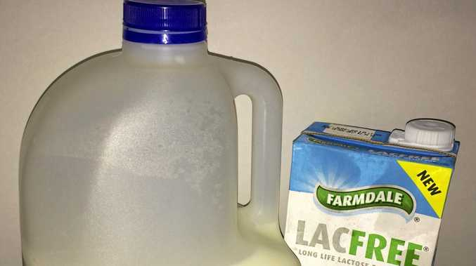 The alleged theft of milk products from a Grafton distributor has landed three you local men in court.