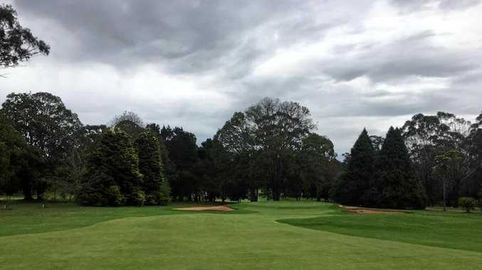 The Toowoomba Golf Course has faired well after last night's downpour.