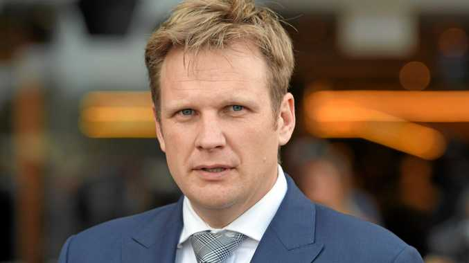 BACK ON TRACK: Trainer Bjorn Baker expects Shantou to run well in Orange.