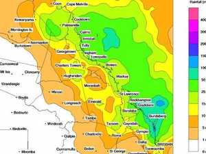 Brace yourself CQ, BoM predict a deluge in days ahead