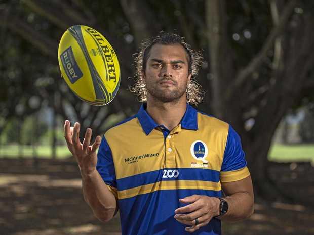 Brisbane City's Karmichael Hunt...preparing to face the All Blacks. Photo: Brendan Hertel, QRU