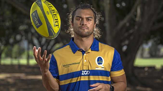 Brisbane City's Karmichael Hunt...preparing to face the All Blacks. Photo: Brendan Hertel, QRU