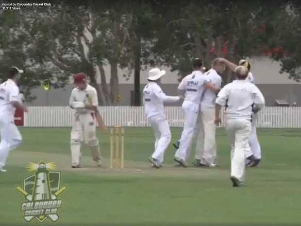 Have you ever seen anything quite like this wicket?