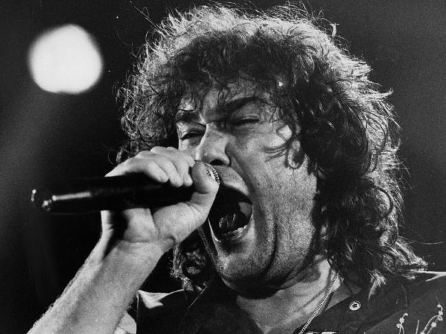 Jimmy Barnes in the glory days of Cold Chisel. Picture: SuppliedSource:News Corp Australia