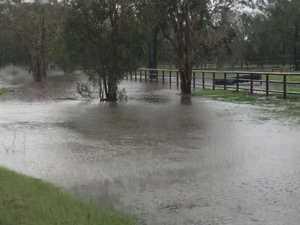 Road closures after downpour on Fraser Coast