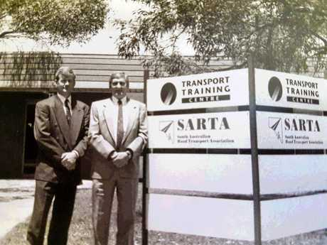 Another time: Steve Shearer has been a spokeperson for SARTA for a generation and has a history of building political bridges.