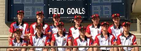The Rockhampton Grammar School First XI played five games in Sydney.