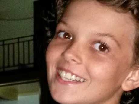 Mark Slatter, 13, was killed when the car he was travelling in crashed into a creek.