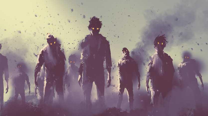 Last Sunday was Zombie Day.