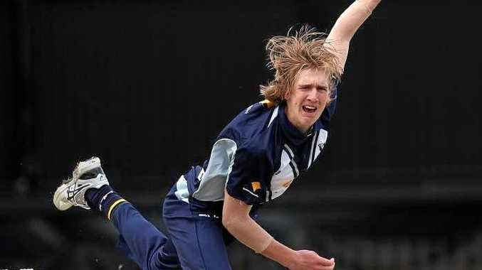 Will Sutherland bowls at North Sydney Oval on Sunday.