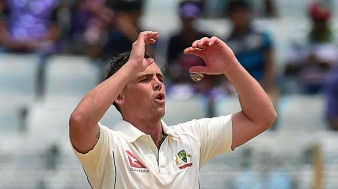 Steve O'Keefe's Ashes availability took a blow after breaking a finger in Sydney grade cricket. Photo: AFP