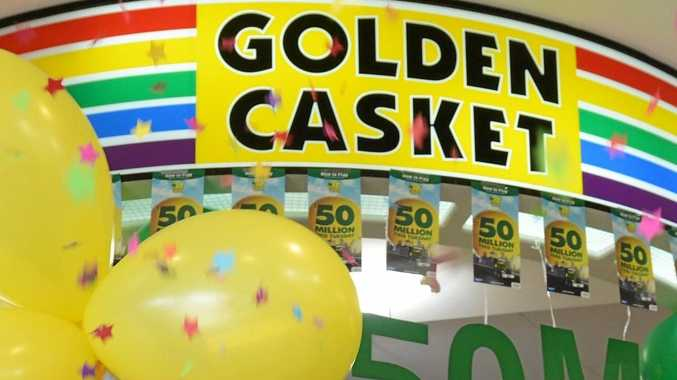 The $2m ticket was bought at Aussie News in Palmview.