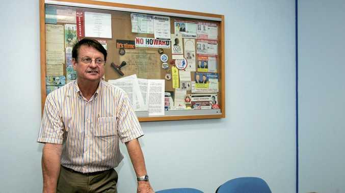 KINGMAKER: Former Rockhampton MP Robert Schwarten is busy behind the scenes.