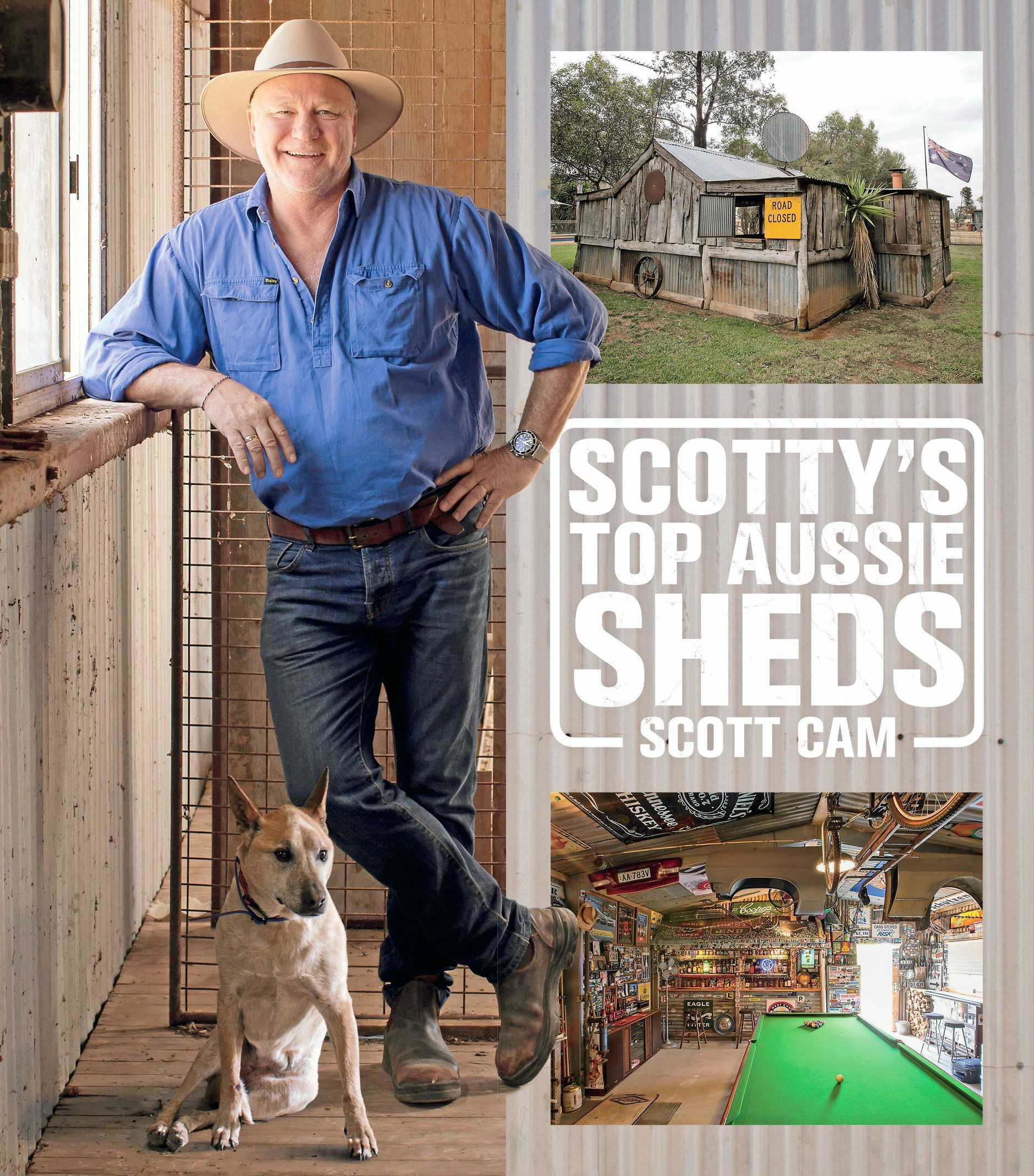 BOOKS: Join Scott Cam as he takes you on a journey through his top 20 Aussie sheds.