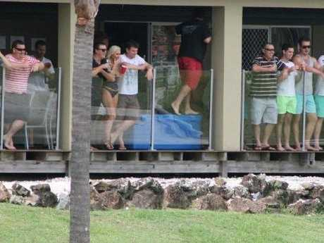 Images from a Party House Bucks party at Mermaid Beach over the weekend Picture: Supplied
