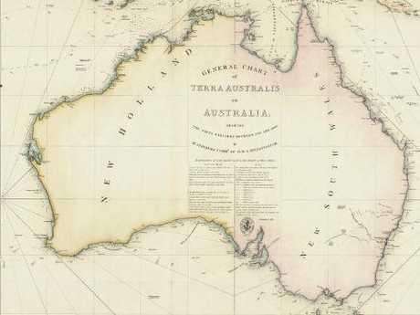 General Chart of Terra Australis or Australia, 181