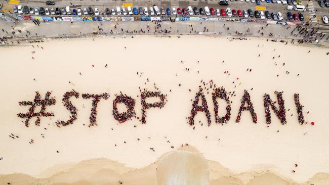 STOP ADANI BONDI BEACH