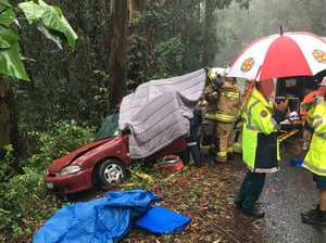 Marathon rescue effort to save woman from horror crash