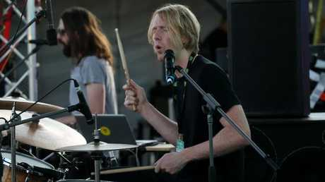 Grass is Greener festival at Cairns Showgrounds. British India's Matt O'Gorman.