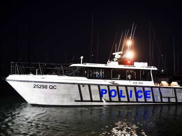 FILE PHOTO: Water police are taking part in the search for the missing crew.